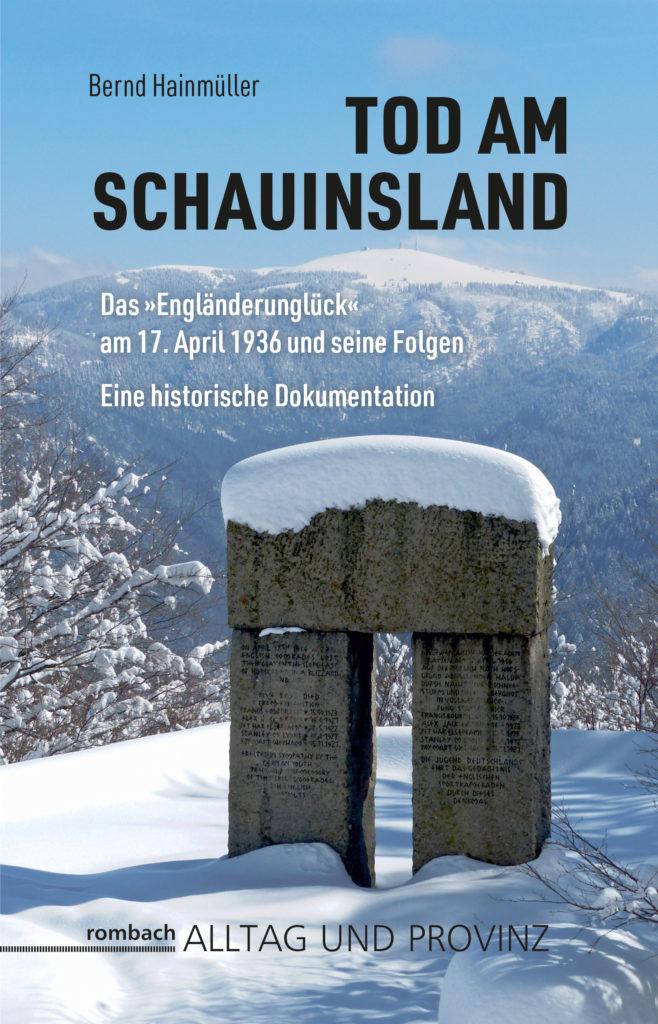 Hainmüller, Tod am Schauinsland, Rombach Verlag